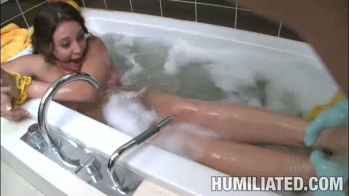 Rough Bathroom Sex