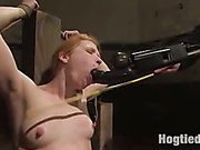 Bondage and pussy torture