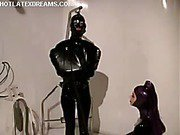 Domme in latex