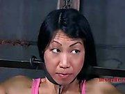 Petite Asian slave