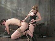 Her pet slaveboy
