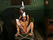 Dunce cap and forced orgasms