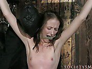 Slavegirl left as sexual offering