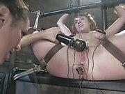 Electrostim and forced orgasms