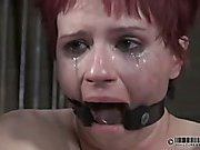 Claire Cries While Cumming