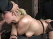 Anikka Albright Gets Her Throat Worked Over
