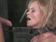 Stunning MILF Simone Sonay Sucking Cock