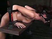 Cici Rhodes Gets Some Custom Made Bondage