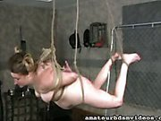 Blowjob and Hogtied
