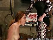 Blowjob in the Dungeon