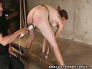 Hard Crotch Tie Bondage
