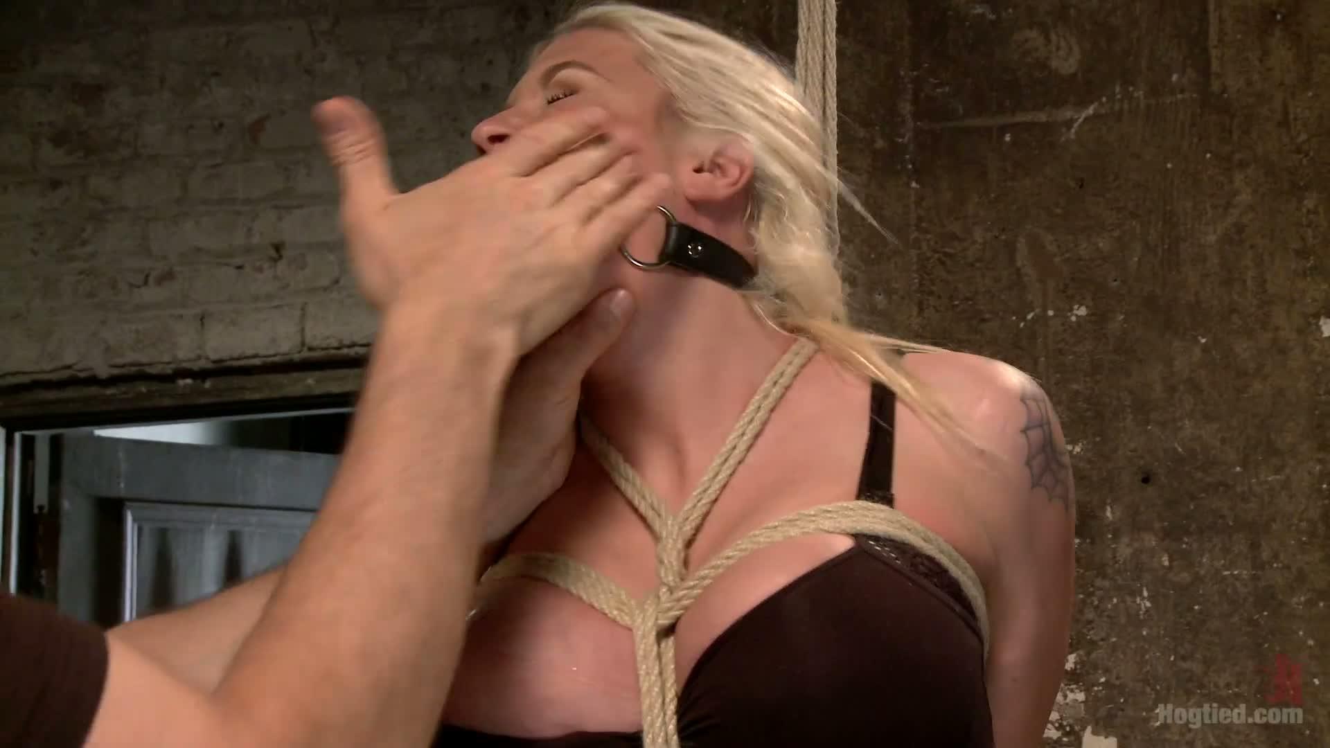 Double bondage girl video