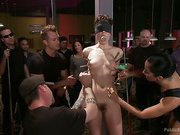 Lily LaBeau acquires played in sexual Pool Hall