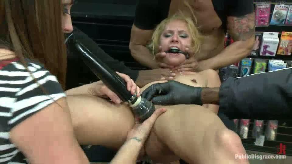 Petite tiny blonde fucked porn