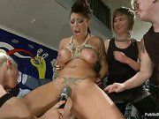Big Titted Reality TV Star a-hole drilled in Public
