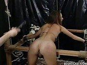 Her ass is beaten