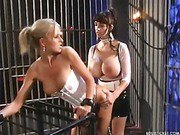 Big breast mistress spanks