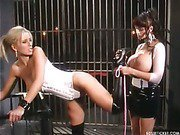 Big breast mistress spanks