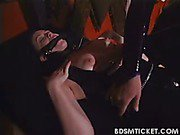 Slave is tormented by mistress