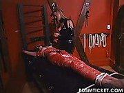 Slavegirl gets mummified