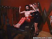 Slavegirl gets mummified