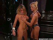 Girl bottom flogging