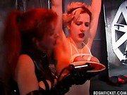 Slave girl sobs