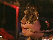 Hogtying slave girl