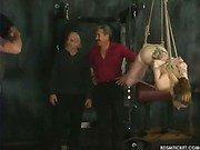 Roping a slavegirl