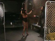 Gagged submissive