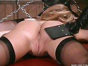 Being flogged hard