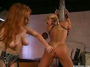 Flogging from dominatrix