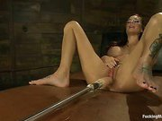 Power playgirl Gia DiMarco is back w/Machines