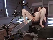 Full bodied Girl, Full bodied drilled by Machines