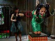 Lyla Storm gets lesbian punishment