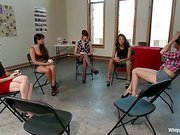 Get Off The Dick! A lesbo s&m fantasy.