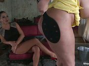 Sandra Romain Returns in Domestic Servitude!