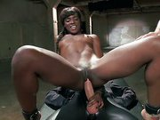 Severe Reverse Cowgirl Training Ana Foxxx, Day One