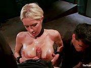 The Dismissal of a large Tit, Bleach blonde Porn Star