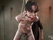 Newbie gets the full treatment! extraordinary slavery and
