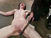 Newbie gets the full treatment! extraordinary slavery and