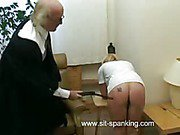 Caned in the kitchen