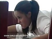 Brutal canings for a hot youthful brunette