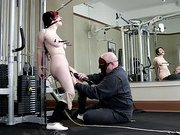Gym playgirl Taken and Tormented
