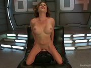 Krissy Lynn Double's DOWN - ALL double penetration MACHINE