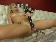 Blond cutie, 19 yr old Carmen Caliente - Name Says it All!