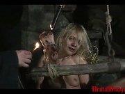 Amateur slave Romina
