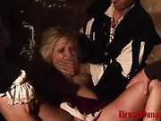 Submissive Blonde Magda
