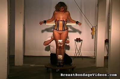 Bdsm breast wrap