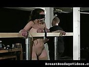 Tit Torture and Whipping